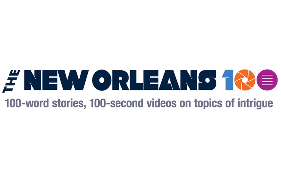 The New Orleans 100 logo, of which Tarun Jolly in New Orleans, LA is a member